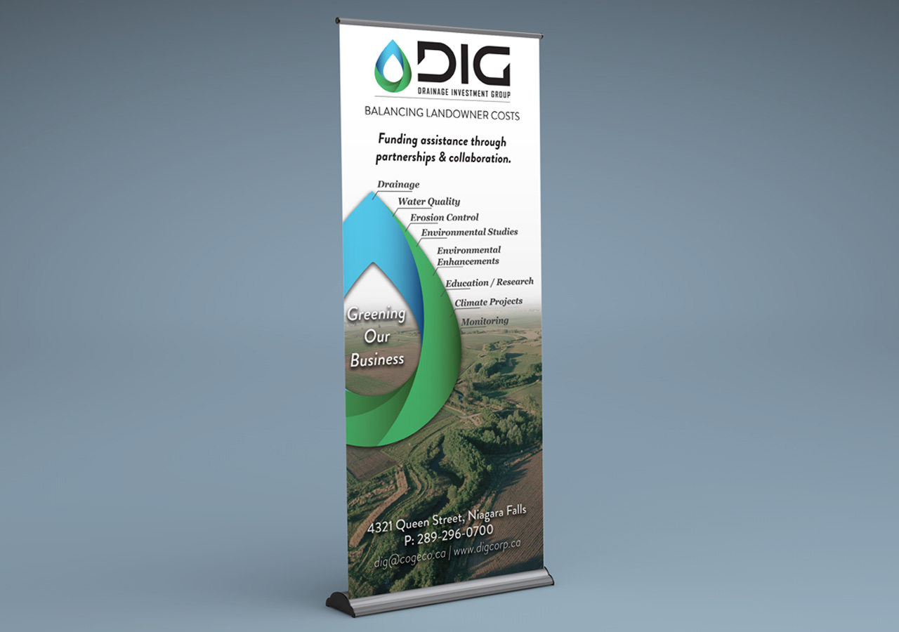 Drainage Investment Group Banner