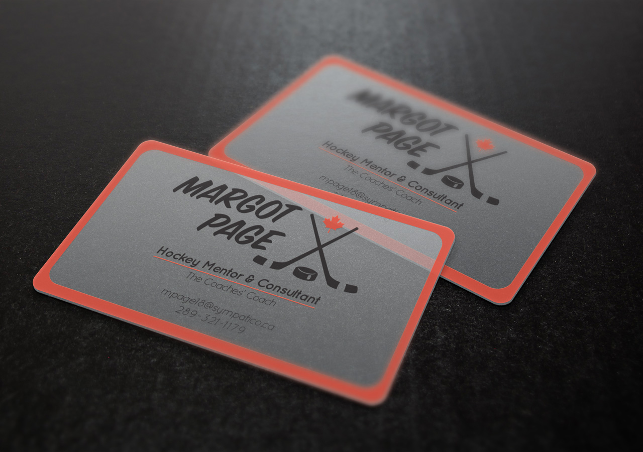 Margot Page Business Cards